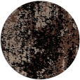 rug #1272795 | round brown abstract rug