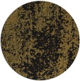 rug #1272799 | round black abstract rug