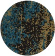 rug #1272807 | round brown abstract rug