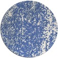 rug #1272827 | round blue abstract rug