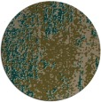 rug #1272891 | round brown abstract rug