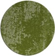 rug #1272907 | round green abstract rug