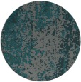 rug #1272911 | round green abstract rug