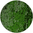 rug #1272923 | round light-green abstract rug