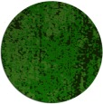 rug #1272987 | round green abstract rug