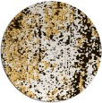 rug #1273083   round brown abstract rug