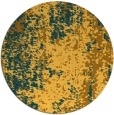 rug #1273111   round light-orange abstract rug