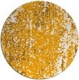 rug #1273135 | round light-orange abstract rug
