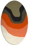 rug #1273910   oval gradient rug