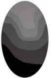 rug #1274064   oval gradient rug