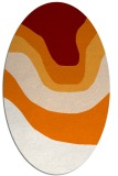 rug #1274102 | oval gradient rug