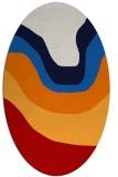 rug #1274143 | oval red popular rug