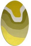 rug #1274181 | oval gradient rug
