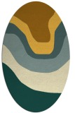 rug #1274217 | oval gradient rug