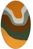 rug #1274244 | oval gradient rug