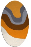 rug #1274248 | oval gradient rug