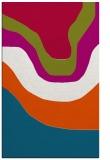 rug #1274371 |  blue-green gradient rug