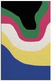 rug #1274455 |  black abstract rug