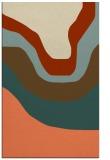 rug #1274471 |  orange gradient rug