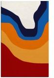 rug #1274511 |  red gradient rug