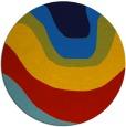 rug #1274653 | round gradient rug