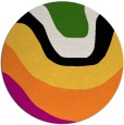 rug #1274799 | round abstract rug