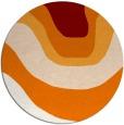 rug #1274838 | round gradient rug