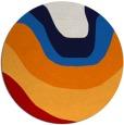 rug #1274879   round red gradient rug