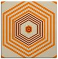 rug #1277195   square orange retro rug