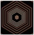rug #1277211 | square brown retro rug