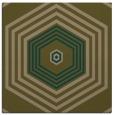 rug #1277307 | square brown retro rug