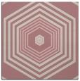 rug #1277319   square pink retro rug