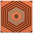rug #1277419   square red-orange rug