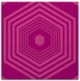 rug #1277423 | square pink retro rug