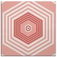 rug #1277435 | square pink retro rug