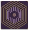 rug #1277447   square purple retro rug
