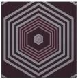 rug #1277451 | square purple retro rug