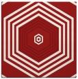 rug #1277463 | square red retro rug