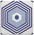 rug #1277495 | square white retro rug