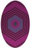 rug #1277646   oval retro rug