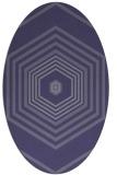 rug #1277654 | oval geometry rug
