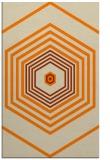 rug #1277931    orange retro rug