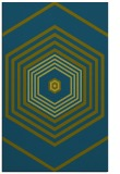rug #1278007    green retro rug