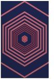 rug #1278023 |  pink retro rug