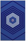 rug #1278031 |  blue-violet retro rug
