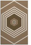 rug #1278091 |  mid-brown retro rug