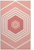 rug #1278171    pink retro rug