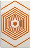rug #1278219 |  red-orange retro rug