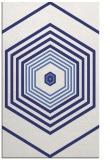 rug #1278231 |  blue retro rug