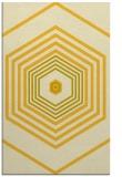 rug #1278251 |  yellow retro rug